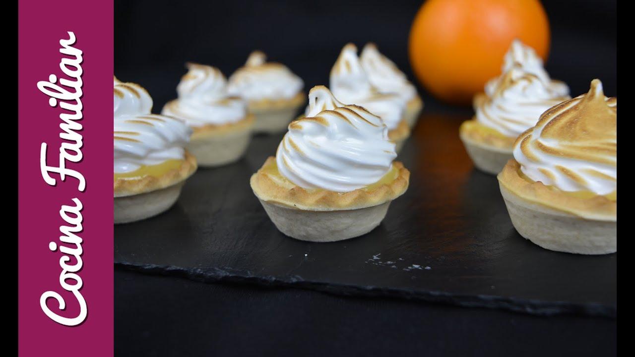 Pasteles de crema inglesa con merengue | Javier Romero