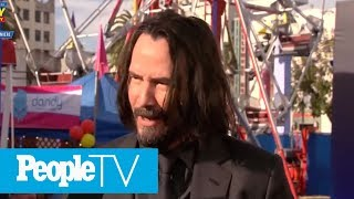 Keanu Reeves Didn't Know He Was The Newest Internet Boyfriend | PeopleTV
