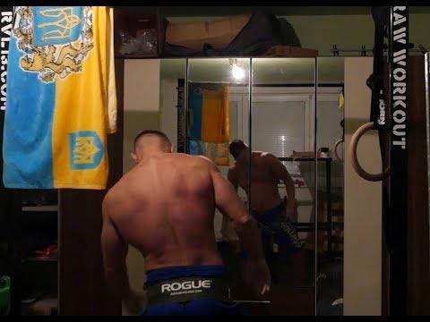 Raw chinups 20x30kg + 30x120kg squats