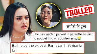 Sonakshi Sinha TROLLED For Ramayan Controversy Again On Posting A Selfie In Car During Lockdown