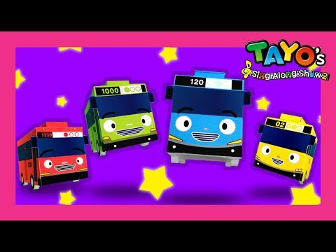Tayo opening song l tayo s sing along show l tayo the little bus