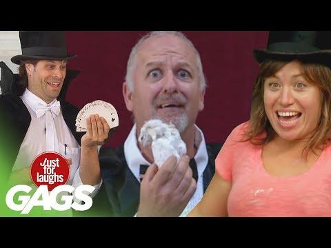 Video De Risa: ¡Bromas Que Usan La Magia Para Tomar El Pelo!