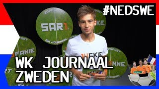 SLAAPKOP MIEDEMA & ALLES OVER DE HALVE FINALE: NEDERLAND VS ZWEDEN | ZAPPSPORT WK JOURNAAL