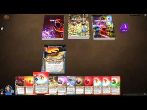 Learn to Play Magicka Mayhem Card Game: Tutorial Video #1 - Spell Card Anatomy