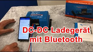 Batterie zu Batterie Ladegerät mit Bluetooth, das Victron Orion-Tr Smart.