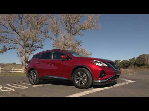 2019 Nissan Murano Driving Preview