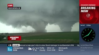 Pilger, NE Twin Tornado Coverage (June 16, 2014) - The Weather Channel
