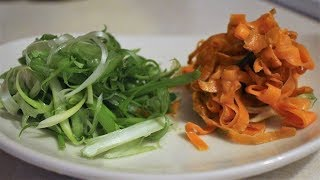 How To Make Simple Garnishes  | Its Only Food W/ Chef John Politte