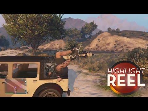 Hitchhiking Can Be A Headache In GTA V
