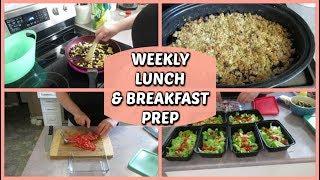 WEEKLY LUNCH & BREAKFAST PREP