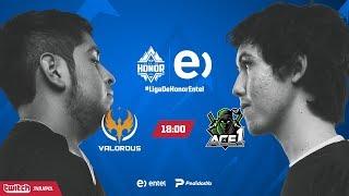 Valorous VS Ace1 | Jornada 12 | Liga de Honor Entel