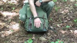 Túravezető hátizsák