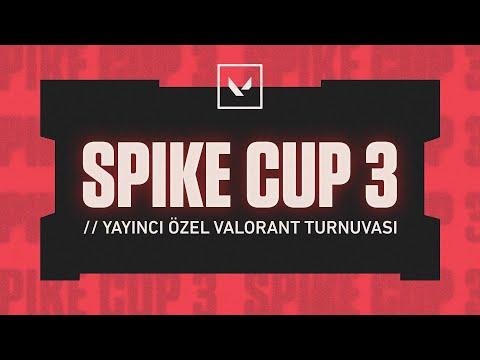 Team tecoNe vs Team cNed | Spike Cup 3 Yayıncı Özel VALORANT Turnuvası Finali