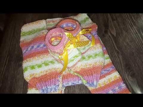 Дела житейские/день вяжу-день ничего/ вяжем с мамой подарочки /#вязание#наспицах#дляноворожденных#