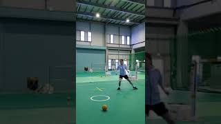 Do you know? how to receive step for sepaktakraw