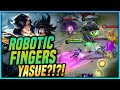 ROBOTIC FINGERS 1 SEC KILL FAST AND WISE GUSION HAIRSTYLIST YASUE