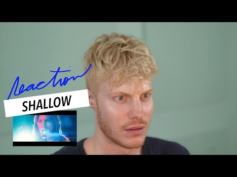 SHALLOW STAR IS BORN LADY GAGA BRADLEY COOPER REACTION Mp3