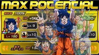 100% LR SPIRIT BOMB GOKU SHOWCASE Dragon Ball Z Dokkan Battle