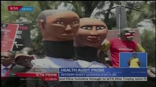 KTN Prime: Health Cabinet Secretary Cleopa Mailu and Bernard Mucheru appear before EACC, 3/11/16
