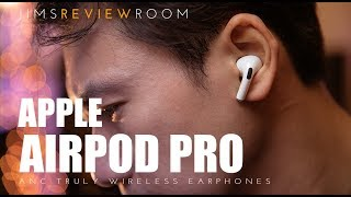 Apple Airpod Pro w/ Active Noise Cancelling - REVIEW