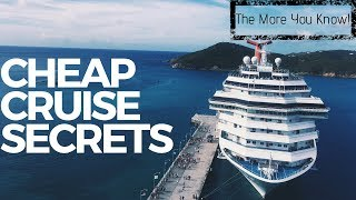 Cheap Cruise Secrets That You Should Know About