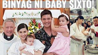 Watch Video of Baby ZIGGY's BAPTISM! Super Cute ni ATE ZIA!