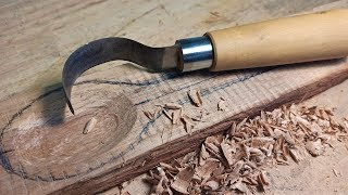 Making A Spoon Carving Knife From Scrap