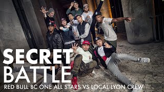 SECRET BATTLE: Red Bull BC One All Stars Called Out by Local Lyon Crew