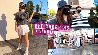 bff shopping day: thrifting + urban outfitters haul! by Alisha Marie Vlogs