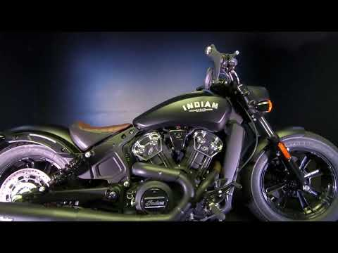 2021 Indian Scout® Bobber ABS in De Pere, Wisconsin - Video 1