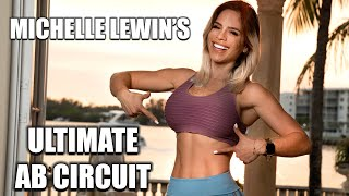 MICHELLE LEWIN: Ultimate Ab Circuit // Home Workouts With No Gym Equipment