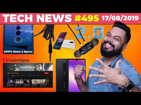 Realme Buds 2.0, Redmi 8 Specs, OPPO Reno 2 Specs, YouTube Originals FREE, Moto One Action-TTN#495
