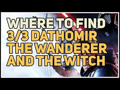 Where to find all The Wanderer and the Witch Dathomir Databank Locations Star Wars