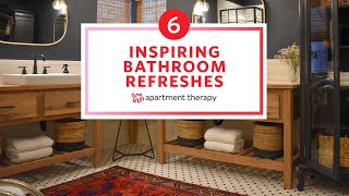 6 Inspiring Bathroom Refreshes | Before & Afters | Apartment Therapy