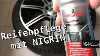 Reifenpflege - NIGRIN Gummi Pflegestift - Gummipflege Reifen putzen Opel Insignia