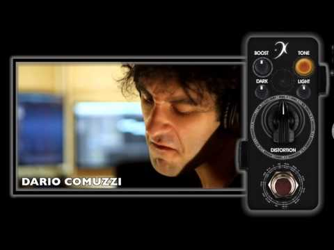 Dario Comuzzi demonstrating F-Pedals DarkLight Distortion!