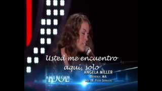 Angie Miller/ you set me free (subtitulos - español) American Idol