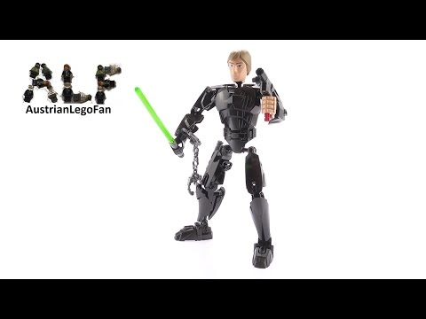 Vidéo LEGO Star Wars 75110 : Luke Skywalker