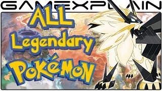 All Legendary Pokémon & Ultra Beast Locations in Pokémon Ultra Sun & Moon (Guide & Walkthrough)