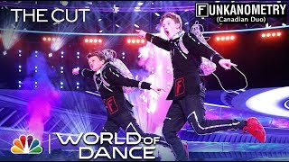 "Funkanometry (Canadian Duo) Performs to ""After Hours"" - The Cut - World of Dance Season 3"