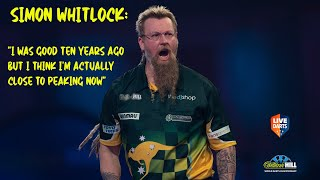 "Simon Whitlock: ""I was good ten years ago but I think I'm actually close to peaking now"""