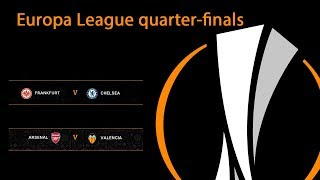 UEFA Europa League.  Semi-finals. Results. Fixtures.