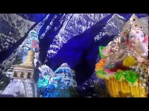 Biswajit Parvi Home Ganpati Decoration Video