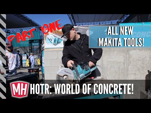 Makita Tools tour at World Of Concrete