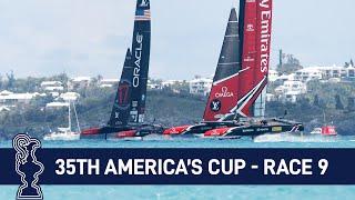 35th America's Cup Race 9 USA vs. NZL | AMERICA'S CUP