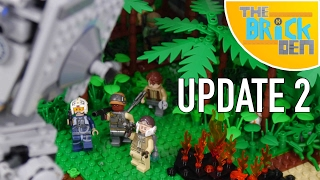 LEGO Scarif Jungle MOC-Update 2 (Jungle Vegetation)