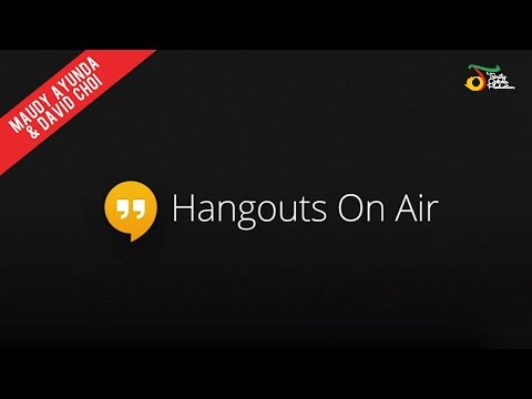 Hangout On Air With Maudy Ayunda & David Choi! - Trinity Optima Production