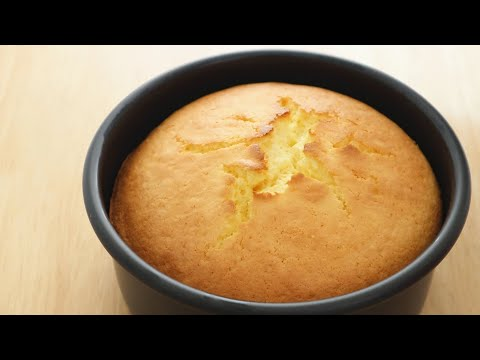 Orange Sponge Cake|Apron