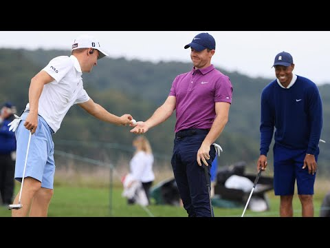 Payne's Valley Cup results coverage Tiger Woods Justin Thomas beat Rory