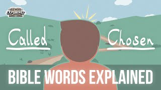 Many are called, but few are chosen // Bible Words Explained (Bible animation)